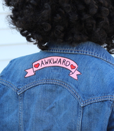 """Awkward"" Stick on patch"