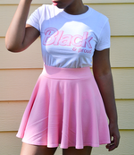 "Adorned By Chi ""Black & Proud"" Doll Inspired Short sleeve women's t-shirt (MORE COLORS)"