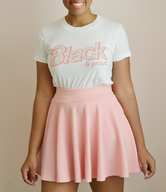 """Black & Proud"" Doll Inspired Short sleeve women's t-shirt (MORE COLORS)"