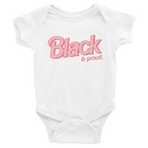 """Black & Proud"" Short Sleeve Infant Onesie (more colors)"