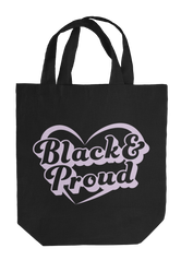 Black & Proud Tote Bag