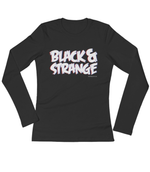 "Adorned By Chi ""Black & Strange"" 3D Women's Long Sleeve T-Shirt"