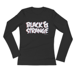 "Adorned By Chi S ""Black & Strange"" 3D Women's Long Sleeve T-Shirt"