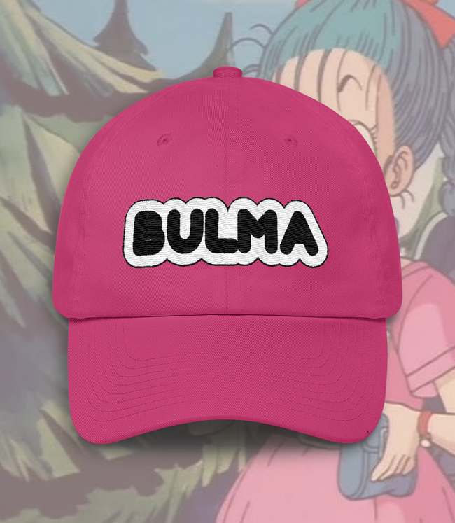 "Adorned By Chi ""Bulma Briefs"" Embroidered Dad Hat"