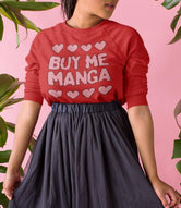"""Buy Me Manga"" Unisex Christmas Sweatshirt"