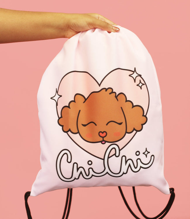 Adorned By Chi Chi Chi Glamour Drawstring bag