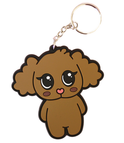 Adorned By Chi Chi Chi Poo Large Keychain