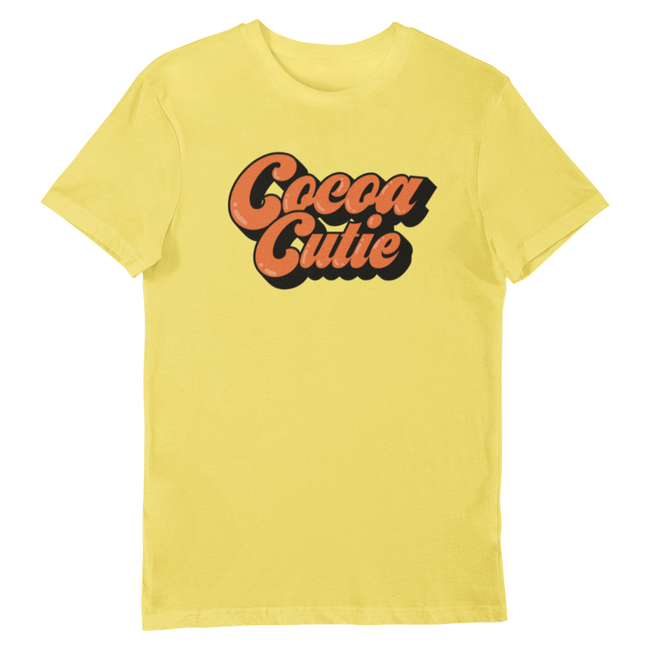 Adorned by Chi Cocoa Cutie Unisex Short-Sleeve T-Shirt