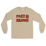 "Adorned By Chi S ""Foxy & Brown"" Unisex Long Sleeve T-Shirt"