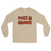 """Foxy & Brown"" Unisex Long Sleeve T-Shirt"
