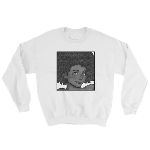 "Adorned By Chi S ""Happy Gogo"" Unisex Sweatshirt"