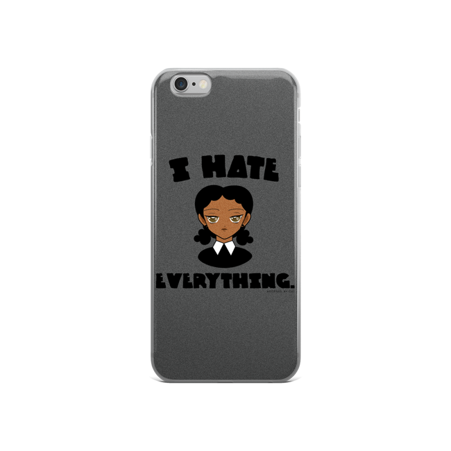 "Adorned By Chi iPhone 6/6s ""I Hate Everything"" iPhone 5/5s/Se, 6/6s, 6/6s Plus Case"