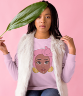 """Kawaii Adaeze"" Unisex Long Sleeve T-Shirt"