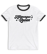 """Killmonger's Queen"" Unisex Ringer T-Shirt"
