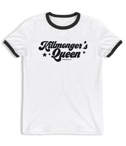 "Adorned By Chi ""Killmonger's Queen"" Unisex Ringer T-Shirt"