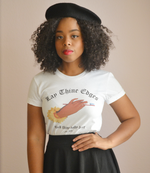 "Adorned By Chi ""Lay Thine Edges"" Short sleeve women's t-shirt"