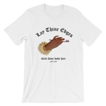"Adorned By Chi ""Lay Thine Edges"" Unisex short sleeve t-shirt"