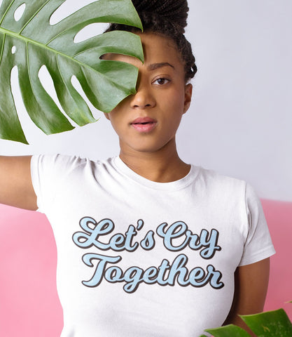 "Adorned By Chi ""Let's Cry Together"" Short-Sleeve Unisex T-Shirt"