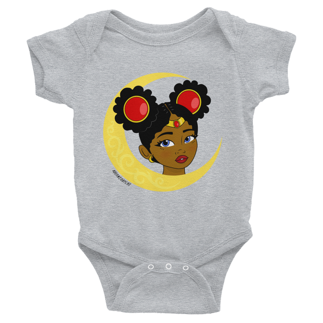 "Adorned By Chi Heather / NB ""Little Sailor"" Infant Onesie"
