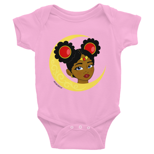 "Adorned By Chi Pink / NB ""Little Sailor"" Infant Onesie"