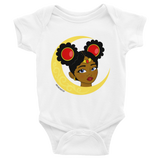 "Adorned By Chi White / NB ""Little Sailor"" Infant Onesie"