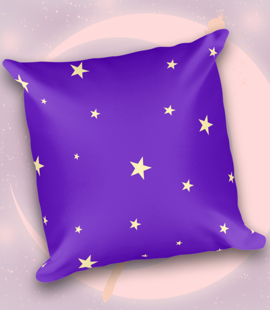 "Adorned By Chi ""Little Sailor"" Sailor Moon Inspired Throw Pillow"