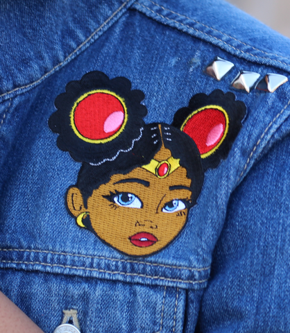 "Adorned By Chi ""Little Sailor"" Stick on patch"