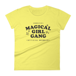 "Adorned By Chi Spring Yellow / S ""Magical Girl Gang: Official Member"" Women's short sleeve t-shirt (MORE COLORS)"