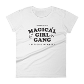 """Magical Girl Gang: Official Member"" Women's short sleeve t-shirt (MORE COLORS)"