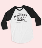 "Adorned By Chi ""Magical Girl Gang"" Unisex Raglan baseball tee"
