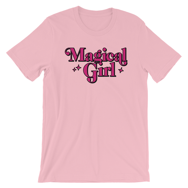 "Adorned By Chi Pink / S ""Magical Girl"" Short-Sleeve Unisex T-Shirt"