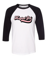 Magical Girl Unisex Raglan T-Shirt
