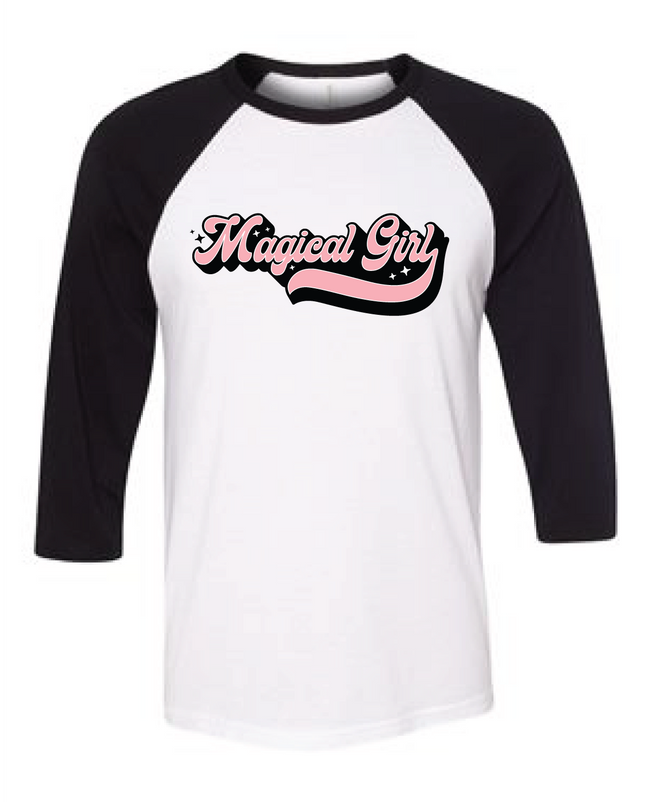 Adorned by Chi Magical Girl Unisex Raglan T-Shirt