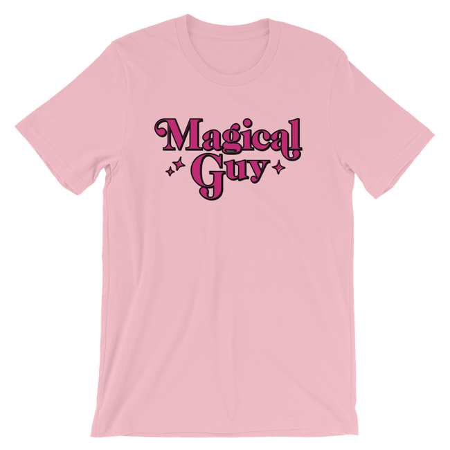 "Adorned By Chi Pink / S ""Magical Guy"" Short-Sleeve Unisex T-Shirt"