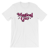 "Adorned By Chi White / S ""Magical Guy"" Short-Sleeve Unisex T-Shirt"