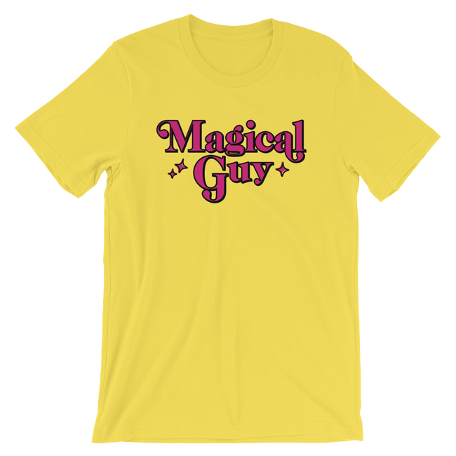 "Adorned By Chi Yellow / S ""Magical Guy"" Short-Sleeve Unisex T-Shirt"