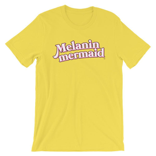 "Adorned By Chi Yellow / S ""Melanin Mermaid"" Short-Sleeve Unisex T-Shirt"