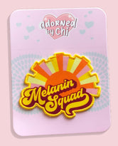 Melanin Squad Iron-On Patch