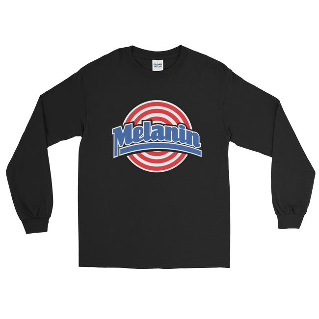 "Adorned By Chi Black / S ""Melanin Squad"" Unisex Long Sleeve T-Shirt (more colors)"