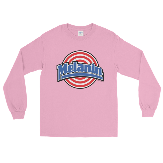 "Adorned By Chi Light Pink / S ""Melanin Squad"" Unisex Long Sleeve T-Shirt (more colors)"