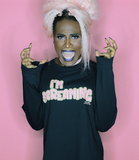 "Adorned By Chi Miles Jai ""I'm Screaming"" Long Sleeve Unisex T-Shirt (more colors)"