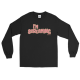 "Adorned By Chi Black / S Miles Jai ""I'm Screaming"" Long Sleeve Unisex T-Shirt (more colors)"