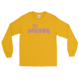 "Adorned By Chi Gold / S Miles Jai ""I'm Screaming"" Long Sleeve Unisex T-Shirt (more colors)"