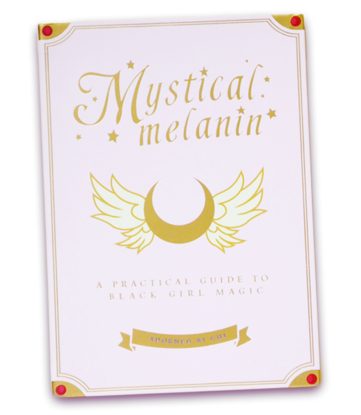 "Adorned By Chi ""Mystical Melanin: A Practical Guide to Black Girl Magic"" Journal"
