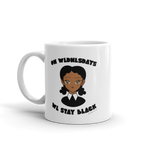 "Adorned By Chi ""On Wednesdays We Stay Black"" Mug"