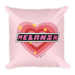 "Adorned By Chi Default Title ""PPG Melanin"" Square Pillow"