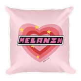 """PPG Melanin"" Square Pillow"
