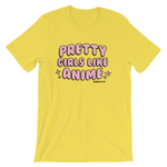 "Adorned By Chi ""Pretty Girls Like Anime"" Short-Sleeve Unisex T-Shirt"