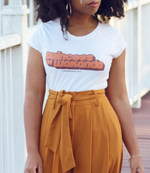 """Princess of Wakanda"" 70's Inspired Women's short sleeve t-shirt"