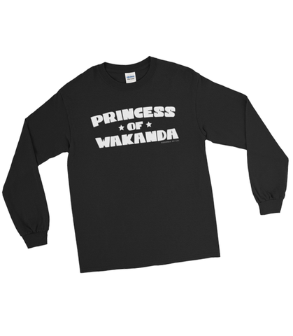 "Adorned By Chi ""Princess of Wakanda"" Unisex Long Sleeve T-Shirt"